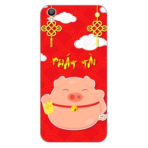 Ốp lưng điện thoại oppo f1 plus - Pig 2019