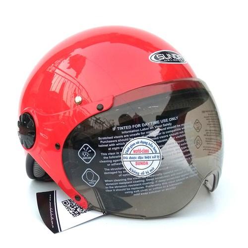 Mũ bảo hiểm - Nón bảo hiểm -Mũ bảo hiểm chính hãng - Mũ bảo hiểm nửa đầu có kính Sunda 136B mẫu mới màu đỏ bóng - 7000422 , 13744829 , 15_13744829 , 320000 , Mu-bao-hiem-Non-bao-hiem-Mu-bao-hiem-chinh-hang-Mu-bao-hiem-nua-dau-co-kinh-Sunda-136B-mau-moi-mau-do-bong-15_13744829 , sendo.vn , Mũ bảo hiểm - Nón bảo hiểm -Mũ bảo hiểm chính hãng - Mũ bảo hiểm nửa đầu c