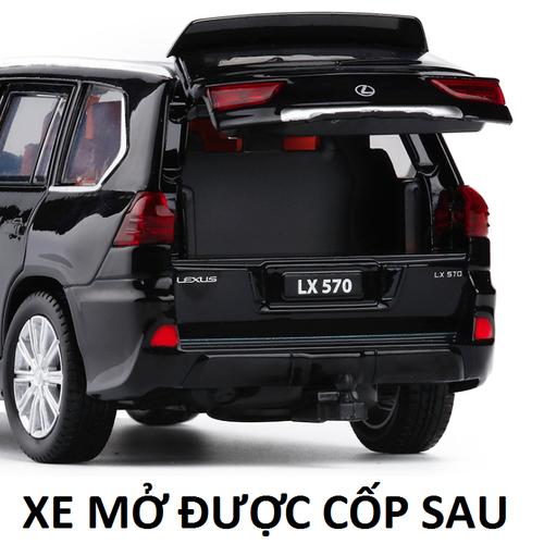 Xe mô hinh ô tô  Lexus LX570 màu đen bằng sắt có đèn và mở các cửa - 7336270 , 13994275 , 15_13994275 , 389000 , Xe-mo-hinh-o-to-Lexus-LX570-mau-den-bang-sat-co-den-va-mo-cac-cua-15_13994275 , sendo.vn , Xe mô hinh ô tô  Lexus LX570 màu đen bằng sắt có đèn và mở các cửa