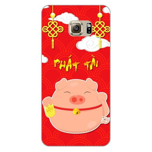 Ốp lưng điện thoại samsung galaxy s6 edge plus - Pig 2019