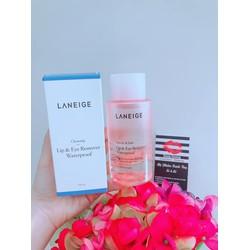 Nước Tẩy Trang Mắt Môi Laneige Lip & Eye Remover Waterproof