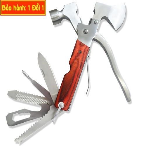 Búa 7 chức năng có lưỡi là một công cụ đắc lực cho các quý ông trong việc sửa chữa các vật dụng