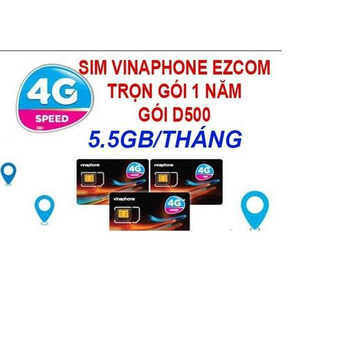 SIM VINAPHNE 4G D500