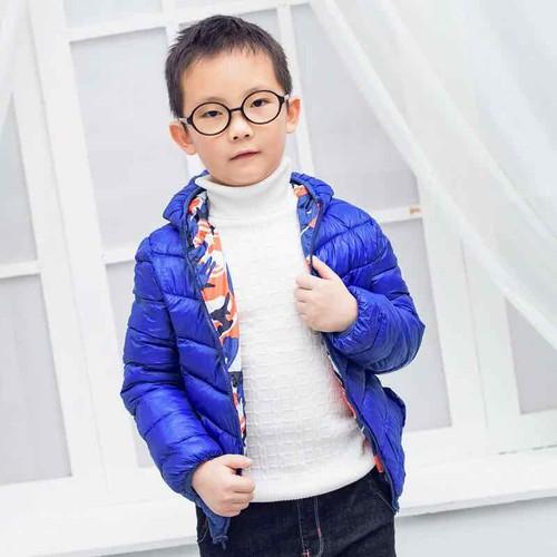 áo khoác 2 mặt cho bé
