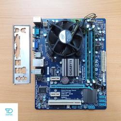 Combo main Giga G41, E8400, 4GB DDR3, Quạt 775 - Combo chơi game main G41, E8400, 4GB ram 3