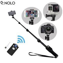 Gậy Selfie Chụp Hình Điện Thoại Có Remote Bluetooth Pin Sạc Model 1288, K30 Hợp Kim Cao Cấp