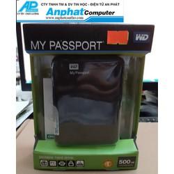 Ổ cứng di động Western My Passport 500gb usb 3.0 bảo hành 24 tháng