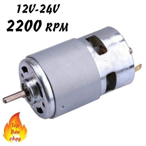 Motor 775 12v - motor siêu bền cho dân diy chuyên nghiệp