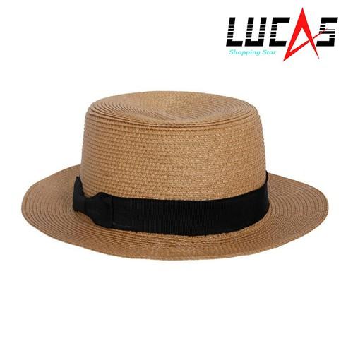 Mũ Cói Đi Biển Nữ HAT 044 BR