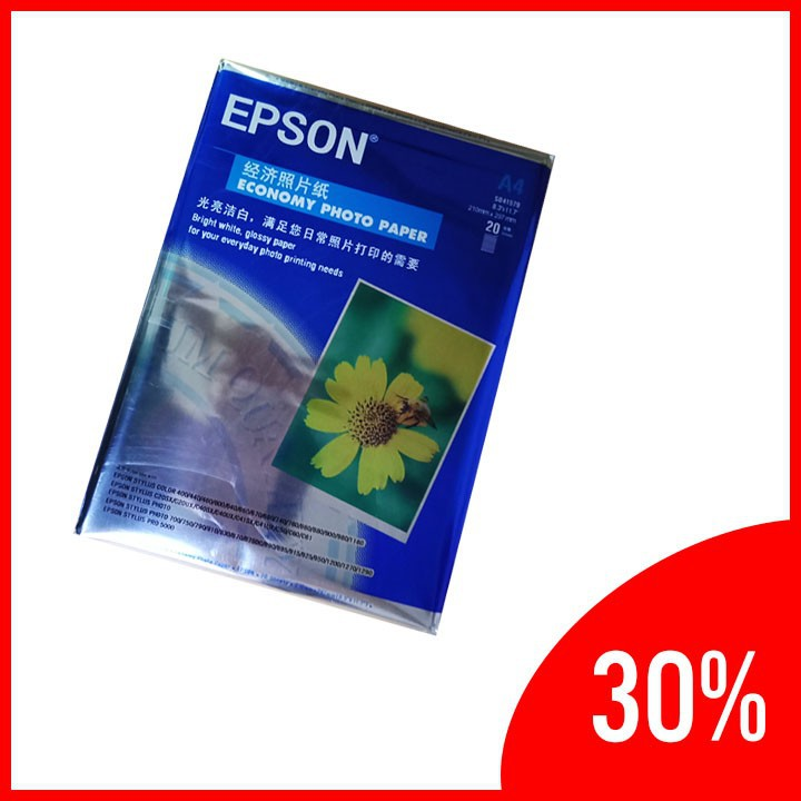 Giấy in EpsonHoa Cúc - 230g 3