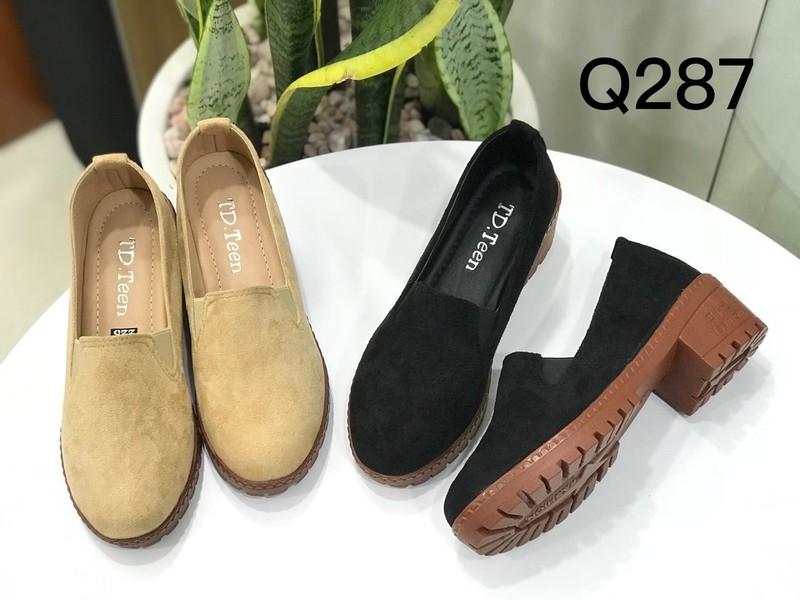 Giày oxford trơn da lộn VN 02 |giày oxford nữ 1