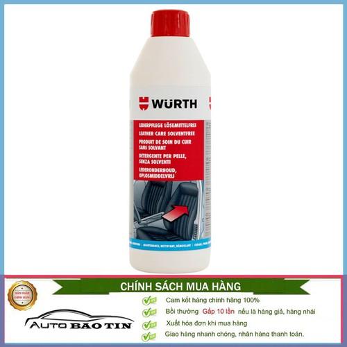 Kem Bảo Dưỡng Và Làm Sạch Da Nội Thất Xe Wurth Leather Care 500ml