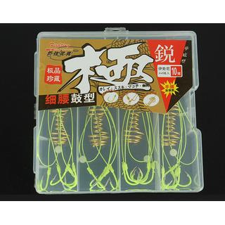 Lưỡi câu lancer- Hộp 4 bộ lancer móc Nhật - SMGDX thumbnail