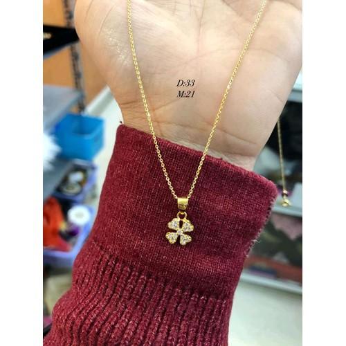 dây chuyền nữ vàng tây 10 kara - 7001898 , 13746328 , 15_13746328 , 1550000 , day-chuyen-nu-vang-tay-10-kara-15_13746328 , sendo.vn , dây chuyền nữ vàng tây 10 kara