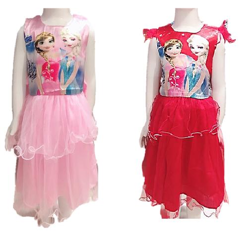 [SIÊU SALE]-[ Free ship đơn hàng 99k]-Váy đầm công chúa elisa cho bé 15-22kg