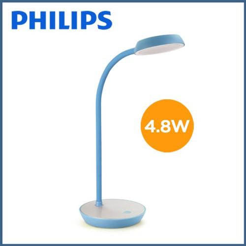Đèn bàn Philips Compass Led 4.8W 66045 - Xanh da trời