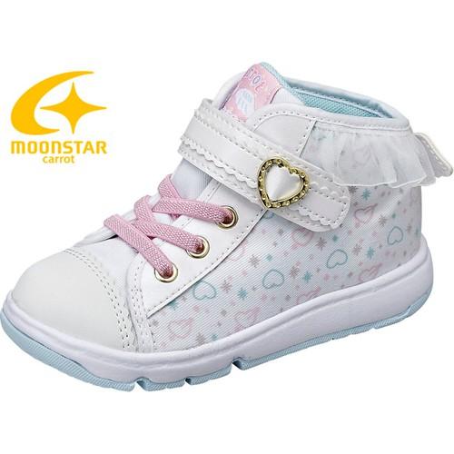 Giày bé gái cổ viền ren cánh thiên thần Moonstar Carrot  16FW CR C2157