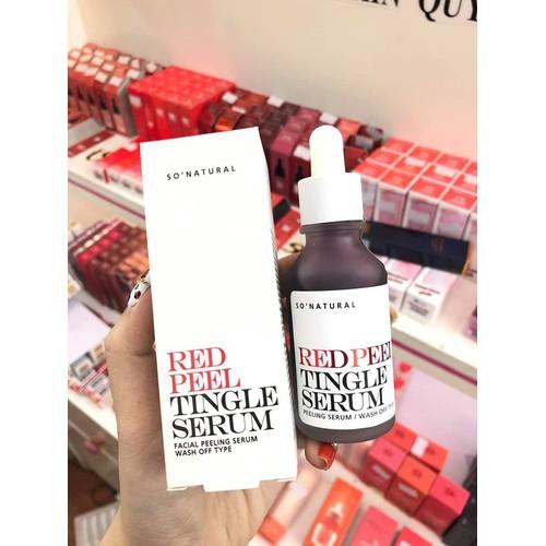 Tinh chất Red Peel Tingle Serum Sonatural