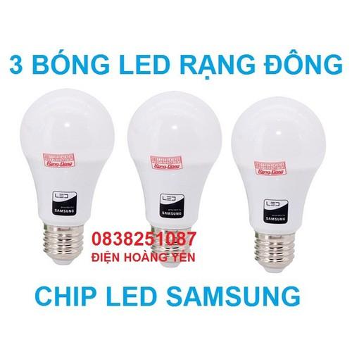 3 Bóng đèn LED Bulb Rạng Đông 7W E27