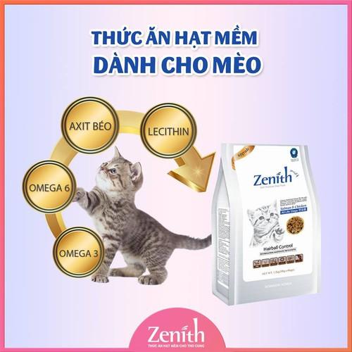 Thức Ăn Hạt Mềm Cho Mèo giúp Tiêu Búi Lông Cho Mèo Zenith Hairball 1,2kg - 7017633 , 13763887 , 15_13763887 , 230000 , Thuc-An-Hat-Mem-Cho-Meo-giup-Tieu-Bui-Long-Cho-Meo-Zenith-Hairball-12kg-15_13763887 , sendo.vn , Thức Ăn Hạt Mềm Cho Mèo giúp Tiêu Búi Lông Cho Mèo Zenith Hairball 1,2kg