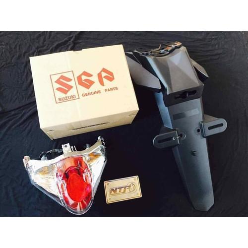 Full bộ 3 raider  đèn tích hộp  đuôi dè  chính hãng suzuki gắn trực tiếp cho Satria