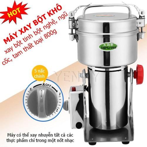 Máy xay nghệ khô, Máy xay khô gia đình tiện lợi, Xay bột - Máy xay tinh bột nghệ- Máy xay ngũ cốc, Máy xay đa năng sử dụng dễ dàng, Chất liệu inox an toàn, Bảo hành 12 tháng. - 7011213 , 13756702 , 15_13756702 , 1600000 , May-xay-nghe-kho-May-xay-kho-gia-dinh-tien-loi-Xay-bot-May-xay-tinh-bot-nghe-May-xay-ngu-coc-May-xay-da-nang-su-dung-de-dang-Chat-lieu-inox-an-toan-Bao-hanh-12-thang.-15_13756702 , sendo.vn , Máy xay nghệ