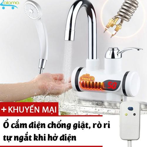 Máy làm nóng nước trực tiếp tại vòi có vòi rửa và vòi sen QWater RX-04 loại gắn tường - 7013120 , 13759075 , 15_13759075 , 1498000 , May-lam-nong-nuoc-truc-tiep-tai-voi-co-voi-rua-va-voi-sen-QWater-RX-04-loai-gan-tuong-15_13759075 , sendo.vn , Máy làm nóng nước trực tiếp tại vòi có vòi rửa và vòi sen QWater RX-04 loại gắn tường