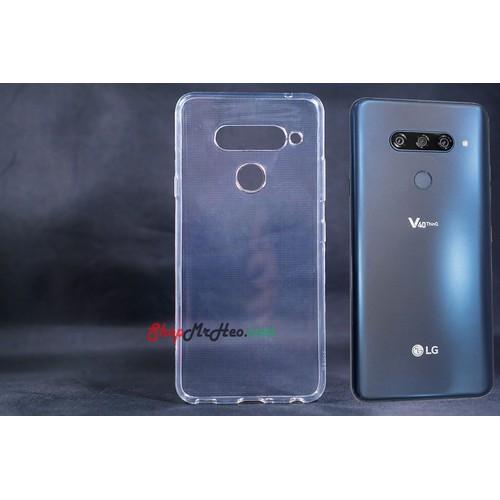 Ốp Lưng Dẻo Trong Suốt LG V40 ThinQ