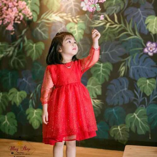 [Sale siêu sốc] váy xinh diện tết cho bé