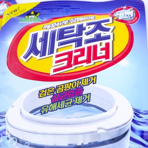 Bột tẩy vệ sinh lồng máy giặt Hàn Quốc Sandokkaebi 450g - 7012178 , 13758080 , 15_13758080 , 50000 , Bot-tay-ve-sinh-long-may-giat-Han-Quoc-Sandokkaebi-450g-15_13758080 , sendo.vn , Bột tẩy vệ sinh lồng máy giặt Hàn Quốc Sandokkaebi 450g