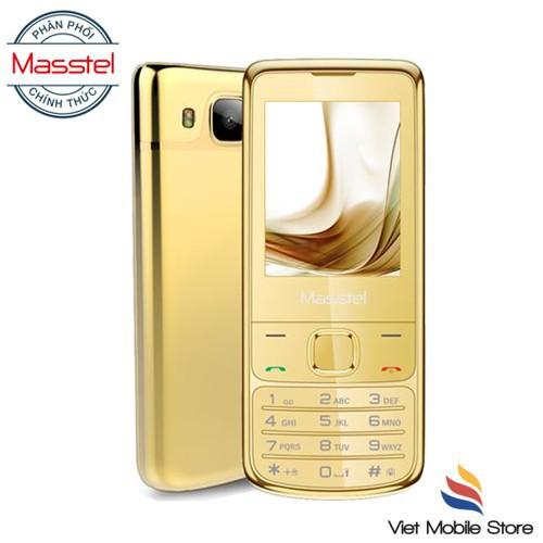 Điện thoại Masstel H860 Viền Vàng 24K  sang trọng- Hàng chính hãng