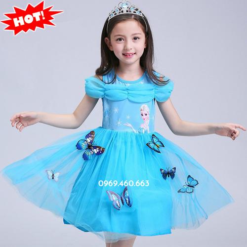 Đầm Công Chúa Elsa cho bé