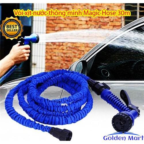 Vòi xịt nước thông minh Magic Hose 30m - Vòi rửa xe tăng áp giãn nở 3 lần - 7009824 , 13755478 , 15_13755478 , 129000 , Voi-xit-nuoc-thong-minh-Magic-Hose-30m-Voi-rua-xe-tang-ap-gian-no-3-lan-15_13755478 , sendo.vn , Vòi xịt nước thông minh Magic Hose 30m - Vòi rửa xe tăng áp giãn nở 3 lần