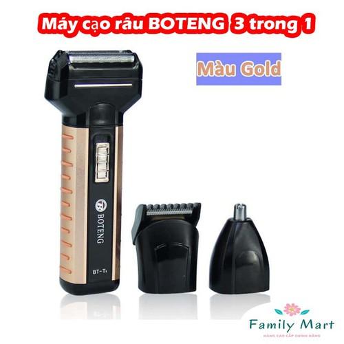 Máy cạo râu BOTENG BT-T1 kiêm tông đơ cắt tóc tỉa lông mũi 3 trong 1 - 7019356 , 13765259 , 15_13765259 , 149000 , May-cao-rau-BOTENG-BT-T1-kiem-tong-do-cat-toc-tia-long-mui-3-trong-1-15_13765259 , sendo.vn , Máy cạo râu BOTENG BT-T1 kiêm tông đơ cắt tóc tỉa lông mũi 3 trong 1
