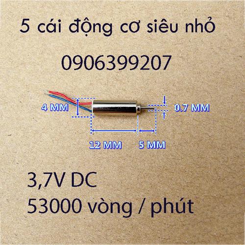 động cơ siêu nhỏ - motor siêu nhỏ - 5 cái