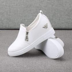 giày lười giày mọi giày slip on nữ độn đế