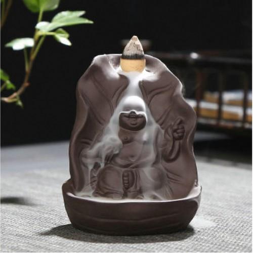 Thác khói trầm hương tượng Phật Di Lặc - Tặng kèm 10 nụ trầm từ gỗ trầm chất lượng cao - 7007397 , 13752992 , 15_13752992 , 129000 , Thac-khoi-tram-huong-tuong-Phat-Di-Lac-Tang-kem-10-nu-tram-tu-go-tram-chat-luong-cao-15_13752992 , sendo.vn , Thác khói trầm hương tượng Phật Di Lặc - Tặng kèm 10 nụ trầm từ gỗ trầm chất lượng cao