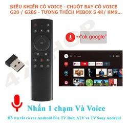 Điều khiển Chuột bay tìm kiếm giọng nói Air Mouse Remote Voice G20 G20S - Tương thích Mibox S KM9