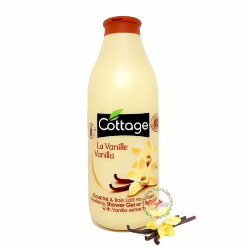 Sữa tắm dưỡng trắng da Cottage Vanila 750ml - Pháp - 4492079 , 13762572 , 15_13762572 , 200000 , Sua-tam-duong-trang-da-Cottage-Vanila-750ml-Phap-15_13762572 , sendo.vn , Sữa tắm dưỡng trắng da Cottage Vanila 750ml - Pháp