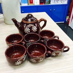 bộ ấm trà - bộ ấm trà sứ cao cấp