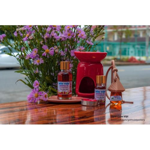 Tinh dầu Quế tự nhiên Gốm Việt - Cinnamon Essential Oil - 30ml - 7072356 , 13810306 , 15_13810306 , 130000 , Tinh-dau-Que-tu-nhien-Gom-Viet-Cinnamon-Essential-Oil-30ml-15_13810306 , sendo.vn , Tinh dầu Quế tự nhiên Gốm Việt - Cinnamon Essential Oil - 30ml