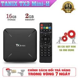 Android Tivibox TX3 Mini-H Hỗ Trợ 4K Chuẩn Nén H.265