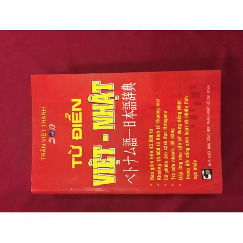 Từ điển Việt Nhật bìa mềm - 7037045 , 13783210 , 15_13783210 , 48000 , Tu-dien-Viet-Nhat-bia-mem-15_13783210 , sendo.vn , Từ điển Việt Nhật bìa mềm