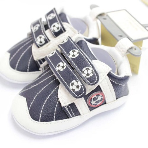 Giày tập đi  dáng thể thao đen- trắng cho bé