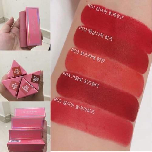 : Son Black Rouge Rose Vel Vet Lipstick