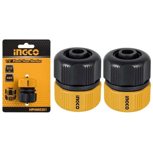 2 Đầu nối ống nước mềm Fi21 INGCO HPHM0201