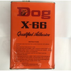 KEO CON CHÓ 3Kg DÁN GIÀY GỖ NHỰA VẢI CAO SU DOG X- 66