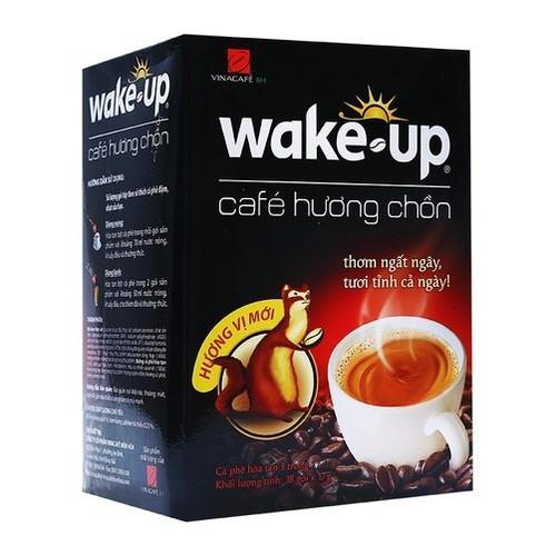 Cà phê đen hòa tan Wake Up Vinacafé hương chồn hộp 18 gói 17g - 7040051 , 13785435 , 15_13785435 , 55000 , Ca-phe-den-hoa-tan-Wake-Up-Vinacafe-huong-chon-hop-18-goi-17g-15_13785435 , sendo.vn , Cà phê đen hòa tan Wake Up Vinacafé hương chồn hộp 18 gói 17g