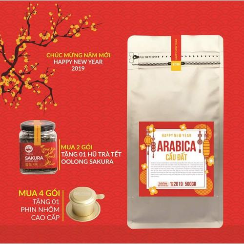 Cà phê Tết - Cà phê Arabica Cầu Đất 500g - The Kaffeine