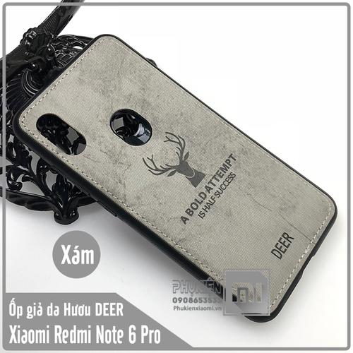 Ốp lưng Xiaomi Redmi Note 6 Pro - Note 6 giả da con hươu DEER - Nhựa dẻo TPU - xám - 7029842 , 13776589 , 15_13776589 , 90000 , Op-lung-Xiaomi-Redmi-Note-6-Pro-Note-6-gia-da-con-huou-DEER-Nhua-deo-TPU-xam-15_13776589 , sendo.vn , Ốp lưng Xiaomi Redmi Note 6 Pro - Note 6 giả da con hươu DEER - Nhựa dẻo TPU - xám